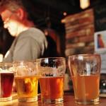 Dégustation de bières à la micro-brasserie de Gananoque - Ontario
