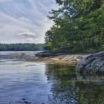 Rives tranquilles du Charleston Lake - Ontario