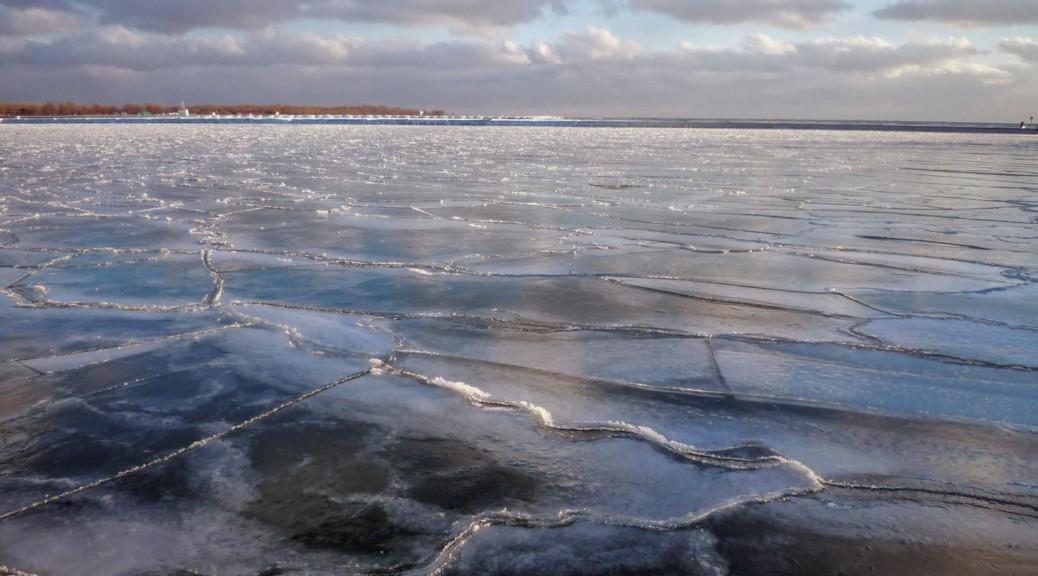 Dégradé de glace…